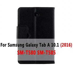 Bluetooth Keyboard Case for Samsung Galaxy Tab A A6 10.1 2016 2019 T580 T585 T580N T585N T510 T515 Keyboard Cover Funda + Gift