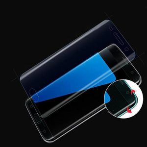 3D Curved Soft Protective Film Screen Protector Film Luxury Latest For Samsung Galaxy