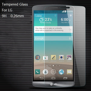 Screen Protector For LG G2 Mini D620 Tempered Glass 9H 0.26mm Latest Film For LG G2MINI D410 Anti-scratch Shield Explosion-proof