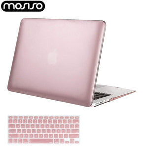 MOSISO Laptop Plastic Hard Cover Case for Macbook Air 11 13 inch Pro 13 15 Retina 2012-2016 2018 Laptop Mac Cases Accessories