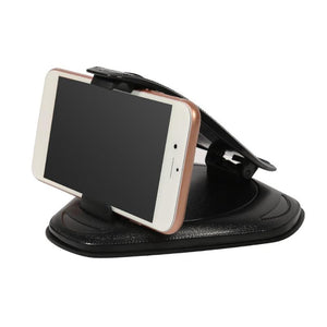 VODOOL Car Dashboard Windshield Phone Holder Stand Adjustable Clip Clamp Anti Slip Mount Mobile Phone GPS Navi Bracket Support