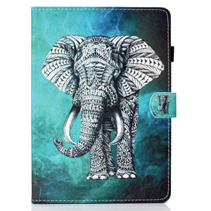 Case For iPad Pro 11 Cases 11 inch Fashion Plating Cartoon Smart Stand Protective Tablet Cover for iPad Pro 11 2018 Bumper Funda