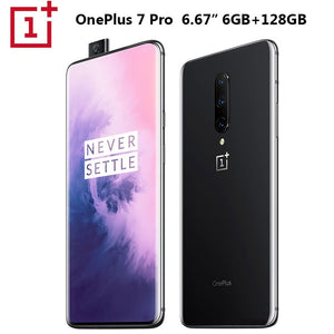 Original OnePlus 7 Pro Mobile Phone 6GB 128GB Snapdragon855 Octa core 6.67inch 3120x1440p 19.5:9 Fullscreen 3 Camera NFC 4000mAh