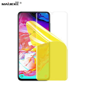 3D Soft Hydrogel Film For Samsung Galaxy A90 A80 A70 A50 A40 A30 A20 A10 Nano Front Screen protector Full Cover TPU Film
