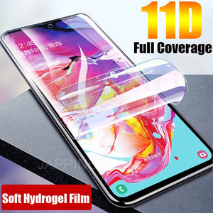 For Google Pixel 3 3a 2 XL 3D Curved Soft TPU Full Cover Front Screen Protector HD Clear Guard Film For Google Pixel Not Glass