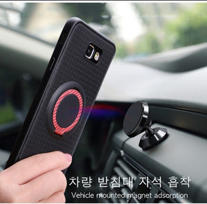 For Samsung Galaxy S10 Plus e A50 A20 A30 M10 J2 J3 J4 J5 J7 Prime 2015 2016 Case Cover Car Holder Magnet Bracket Finger Ring