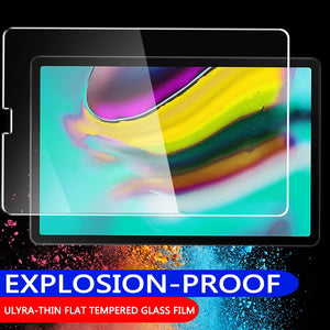 Tempered Glass For Samsung Galaxy Tab s5e A 10.1 inch 2019 10.5 2018 S4 S3 S2 Screen Protector Full Coverage 2016 A6 9.7