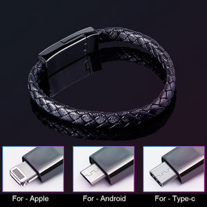 2.4A Bracelet Charging Data Cable Line Fast Charge Portable for Mobile Phone Sports NK-Shopping