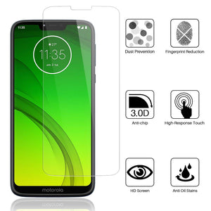 9H 2.5D Screen Protector for Motorola Moto G7 Power Tempered Glass for Moto G7 Play Protective Film G7 Power Screen Cover