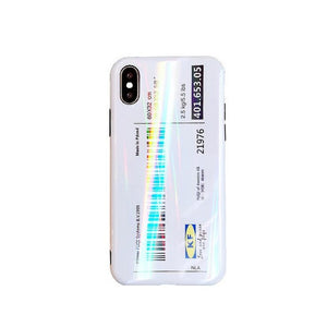 New Aurora Shopping List for iPhoneX case All-inclusive Anti-fall for 7 8 6 6SPlus TP soft case