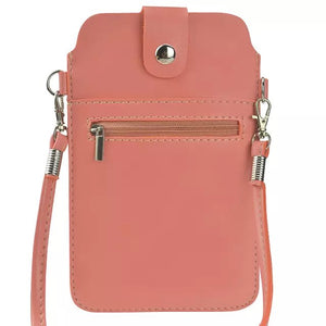 "Shopping Travel Crossbody Holster Bag Magnetic Pouch with Belt Leather Wallet Case Cover For All Smartphone 5.5"" Below"