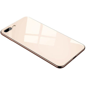 All-inclusive Anti-drop Plating Mirror Mobile Phone Case Compatible for iPhone 6 6S 7 8 X XS Max XR TLR Shop