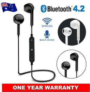 Popular Wireless Bluetooth 4.2 Headset Earphone Sports Headphone Mic for iPhone Samsung With Neckband With Good Quality