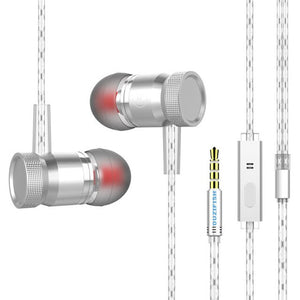 Popular design 100% brand new and high quality 3.5MM Super Bass Stereo In-Ear Earphone Sport Headset with MIC For Cell Phone