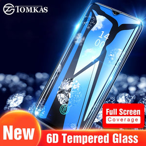 TOMKAS 6D Protective Glass Oneplus 6 Tempered Glass Screen Protector For Oneplus 5 5T Tempered Glass Oneplus 6T Screen Protector