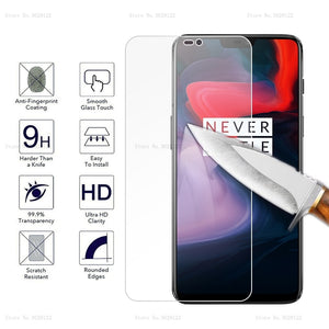 For Oneplus 3T 5T 6T 6 Screen Protector Film Anti-Explosion Full Cover Tempered Glass For Oneplus 3 5 6 7 6T 5 Transparent Film