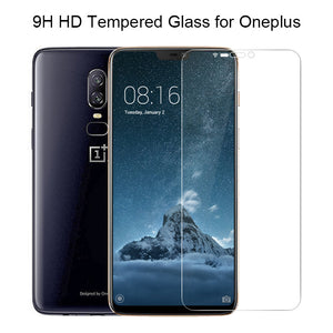 Phone Glass for Oneplus 7 6 5 3 2 Tempered Film 9H HD Toughed Explosion-proof Protective Screen Protector for Oneplus 6T 5T 3T