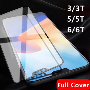 For Oneplus 6 Tempered Glass Original On One Plus 6t 5t 3t 3 5 6 T Screen Protector T6 T5 T3 Protective Film Oneplus6 Plus6 Glas