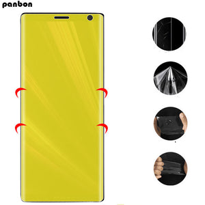 Full Cover Soft Hydrogel TPU Film For Sony xperia xa xa1 Plus Xa2 ultra XA3 Screen Protector for sony xa 1 2 Ultra 3D nano Film