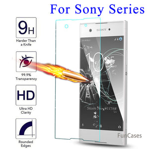 For Sony Xperia Xa1 Glass Tempered Glass For Sony Xperia Xa1 XA X XZ XZ1 XA1 Ultra X Compact E4 C4 C3 Screen Protector Film 2.5D