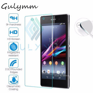 Protective Glass On The For Sony Xperia Tempered Glass Xa1 A2 L1 Xz 1 2  L1 L2 Ultra Compact Tremp Glas Screen Protector Film 9h