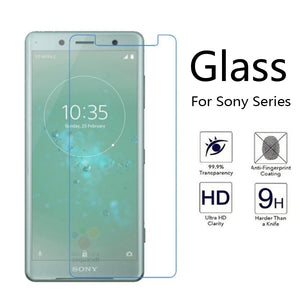 Protective Glass For Sony L1 Screen Protector Case For Sony Xperia XZ XA 2 L 1 X Compact XZ1 XZS XA2 XA1 Tempered Glass Film 9H