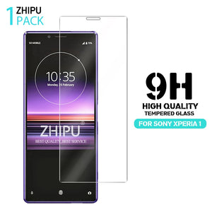 Tempered Glass For Sony Xperia 1 Screen Protector 2.5D 9H Premium Tempered Glass For Sony Xperia 1 Protective Glass Film