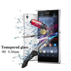 Premium 9H Tempered Glass for Sony xperia Z Z1 Z2 Z3 Z4 Z5 Screen Protector Film Cover Case for Sony xperia Z 1 2 3 4 5 glass