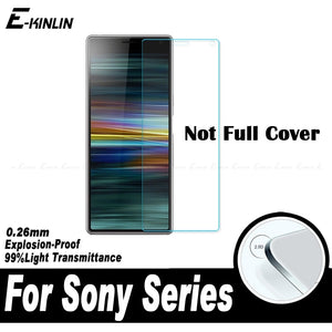 0.26mm 2.5D Transparent Screen Protector Protective Film For Sony Xperia 1 10 Plus Clear Tempered Glass