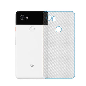 For Google Pixel 2 3 XL Pixel 3a XL Carbon Fiber Soft Back Screen Protector Sticker Film label For Pixel2 Pixel3 XL 2XL 3XL