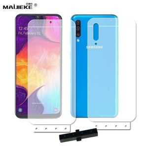 6D Soft Hydrogel Front Back Film For Samsung Galaxy A50 A90 A80 A70 A60 A40 A30 A20 A10 M10 TPU nano HD Screen protector Film