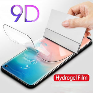 Screenprotector Hydrogel Film On For Samsung Galaxy A80 A70 A59 A40 A30 A20 M20 S10 S9 S8 Plus Screen Protector Schermbeschermer