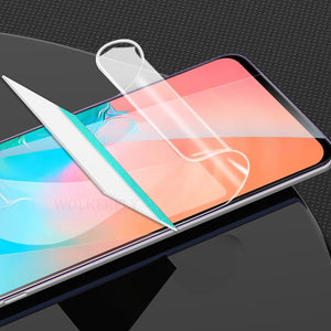 Soft Hydrogel Film For Samsung Galaxy A70 A50 A40 A30 M30 M20 M10 A90 A80 A60 A20 A10 Screen Protector Full Cover Film Not Glass