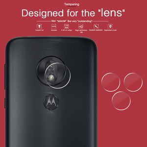Camera Lens Protective Tempered Glass Film For Motorola Moto G7 PLAY Plus Power G7+ XT1965 Clear Lens Screen Protector + Cloth
