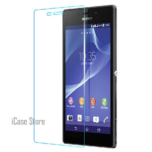 9H Tempered Glass Screen Protector For Sony Xperia C S39H Verre Protective Toughened Film For Sony C S39H Temper Trempe  soni