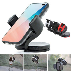 2019 New Hot Mobile Phone Car Holder Windscreen Suction Cup iPhone Window Mount Stand Bracket Free Shipping Drop Shipping