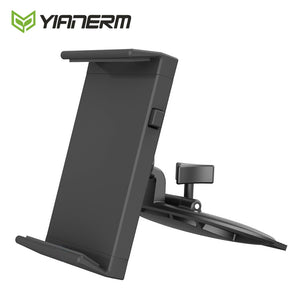 Yianerm CD Slot Tablet Car Phone Holder For iPhone,For iPad mini,Air 1/2,9.7 Pro Support,Android Tablet,7-10.1'' Mount Stand