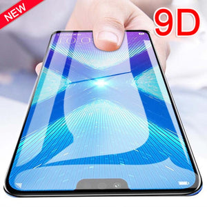 9D Glass for huawei honor 8x 8a 10 20 protective glas on huawei p30 p20 pro mate 20 lite screen protector film p 30 8 x case