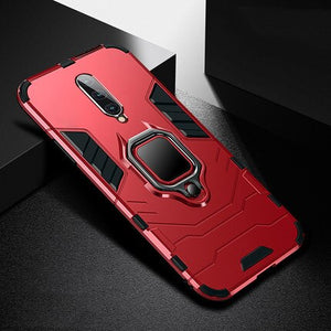 Shockproof Armor Case For OnePlus 7 Pro With Car Holder TPU+PC Back Cover On One Plus 7 Accessory Coque For OnePlus 6T Fundas