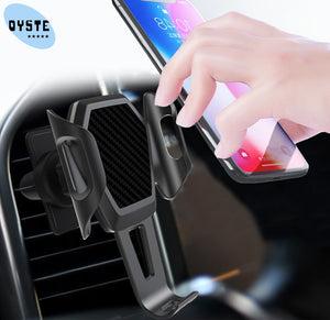 Car Phone Holder For Samsung galaxy S10 S9 S8 j8 j7 j5 A5 2017 Mobile Cell Phone Car Holder Automatic support smartphone voiture