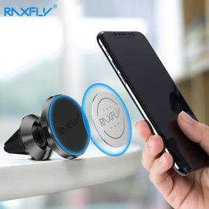 RAXFLY Magnetic Car Phone Holder For Samsung Galaxy S10 Note 9 8 Air Vent Mount Magnet Phone Holder For iPhone XS Max XR XS X 8