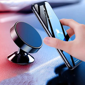 Magnetic Car Phone Holder for Samsung Galaxy S10 Plus S10e Dashboard Mount Stand Magnet Car Holder for iPhone X XS Max 8 7 Plus