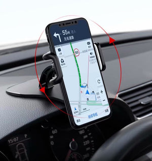 Dashboard Suction Clip Magnetic Car Holder For Galaxy S10E S10 5G S10+,For Asus Zenfone Max Pro (M2) ZB631KL ZB633KL Lite (L1)