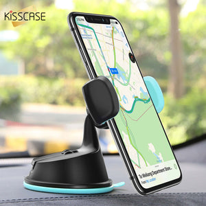 KISSCASE Car Phone Holder For iPhone X XS MAX 7 6 Plus Air Vent Mount Phone Car Holder For Samsung Galaxy S10 S9 Stand Support