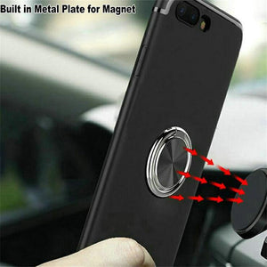 Finger Ring Holder For Samsung Galaxy Note 9 Magnetic Car Phone Holder 360 Degree Rotary Ring Stand  Mobile Phone Holder Support