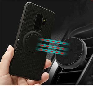 Manget Car Holder Case For Samsung Galaxy S9 S8 A8 A6 plus Note 8 9 s7 edge J2 J5 J7 A7 J4 J6 J8 2018 2017 2016 Back Cover Case