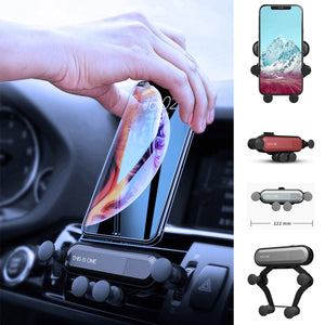 Universal Car Phone Holder Gravity Air Vent Mount Stand for Huawei P30 Pro Mobile Phone GPS Stand for Samsung S10 5G iPhone XR X