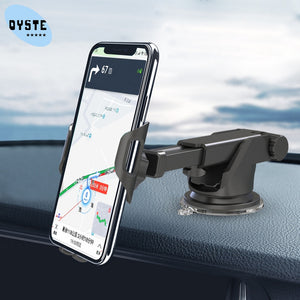Car Phone Holder For Huawei P30 20 Pro mate 20 10 pro Honor 20 10 9 V8 8x Car Holder Munt Universal Telescopic Arm Mobile Stand