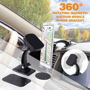 360 Degree Car Magnetic GPS Cell Phone Holder Stand Dashboard Windshield Mount For Huawei P30 P20 Pro lite Car Magnetic Stand