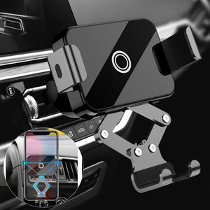 Mini Car Phone Holder for Huawei P30 Pro Universal Gravity Air Vent Mount Car Barcket for Samsung S10 Plus 360 Rotation Stand